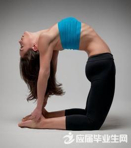 瑜伽的开肩后弯练习