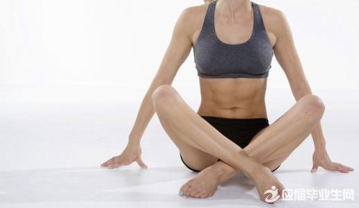 练出马甲线的瑜伽体式