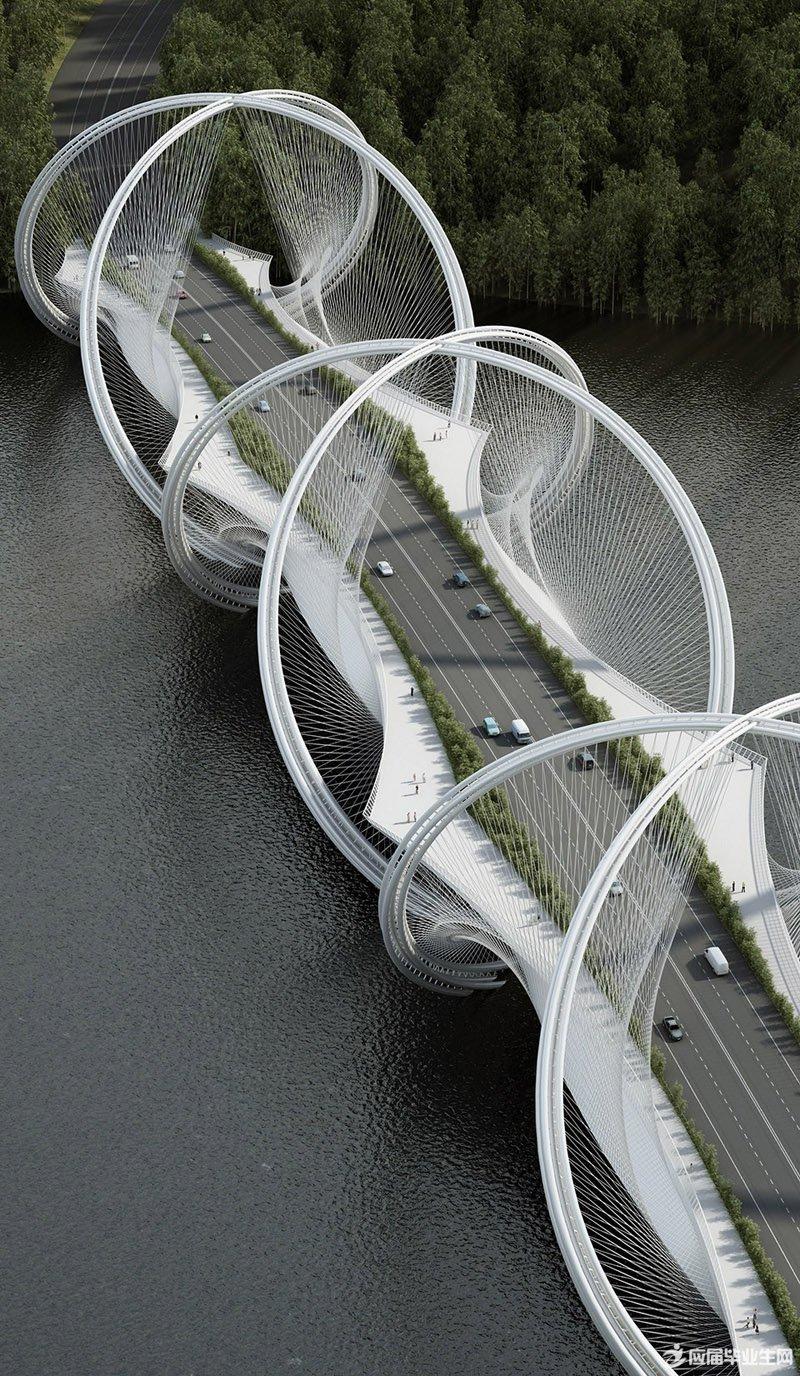 北京冬奥会景观桥设计